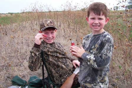 Youth Dove Hunting