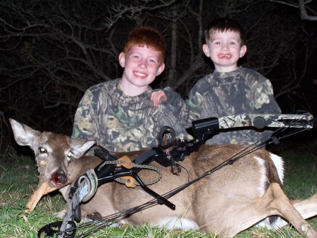 Kids Hunting Whitetail